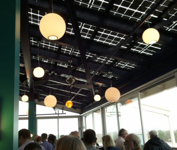 Restaurant Roof Made Entirely of Solar Panels   Sustainable Cities Collective