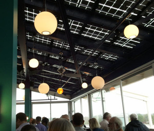 Restaurant Roof Made Entirely of Solar Panels | Sustainable Cities Collective