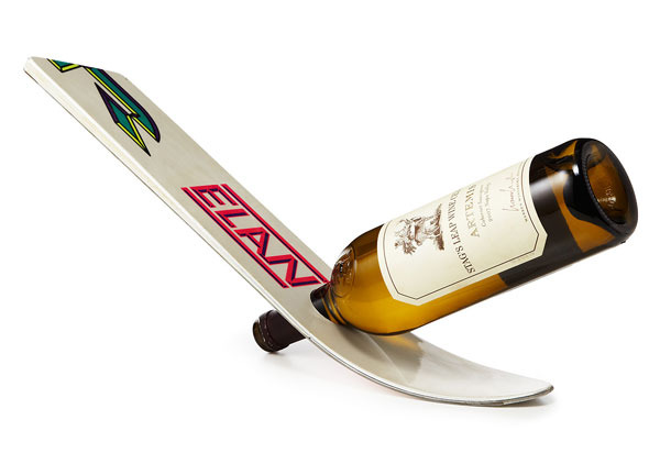 12 Great Wine Racks Made from Old Skis