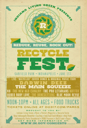 [Event] Indiana Living Green presents Recycle Fest