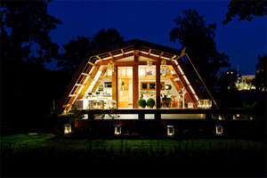 A zero-energy micro-home for off-grid living