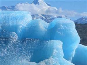 Melting glaciers contribute to rising ocean levels