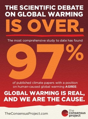 Comprehensive New Study: Global Warming Is Real And Humans Are The Cause
