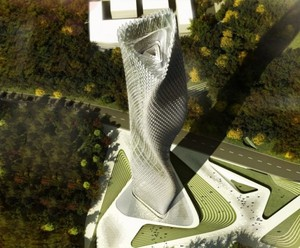 Taiwan Tower's Energy Answer Blowing In The Wind | EarthTechling