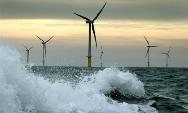 Offshore UK Home to World's Largest Offshore Wind Farm via buildaroo