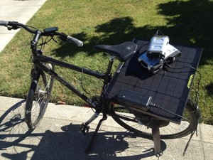 How to make a solar powered electric bike..