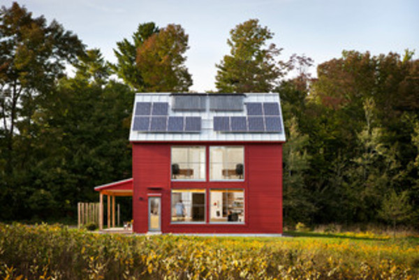 See a Maine House With a $240 Annual Energy Bill via Houzz