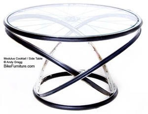 Bike Furniture Design - Modulus Side Table