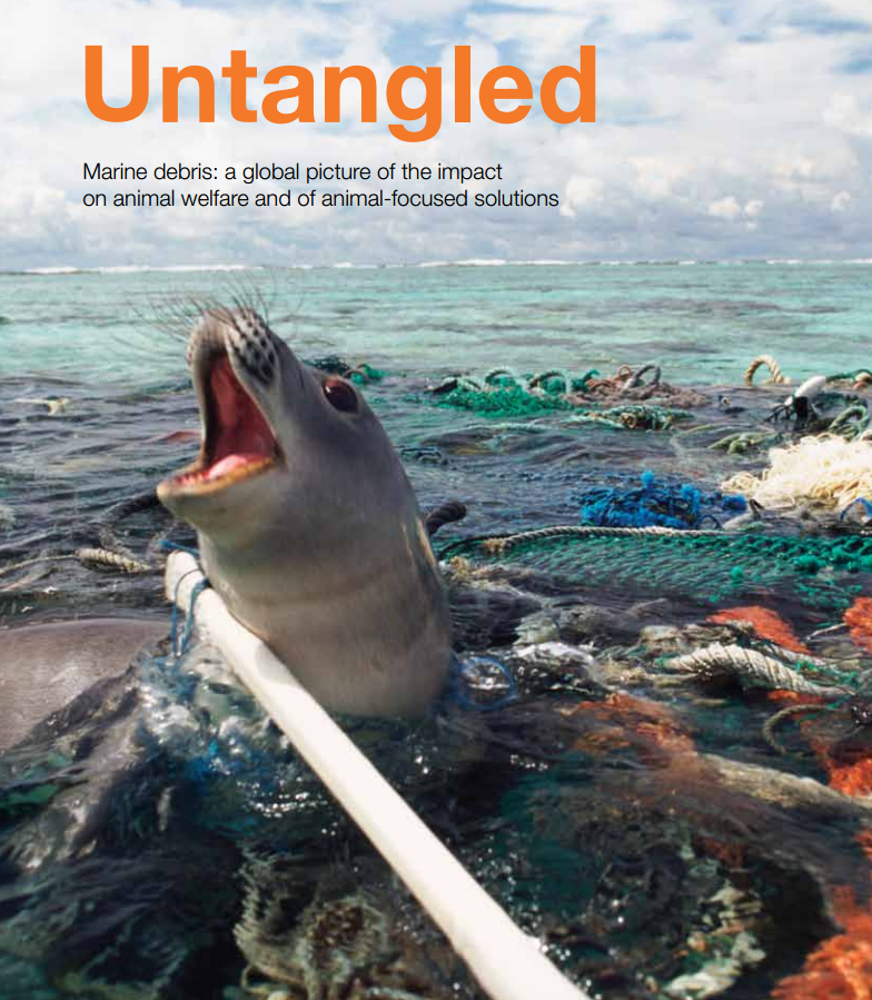 UNTANGLED: A report (on marine debris) by World Society for the Protection of Animals (WSPA)