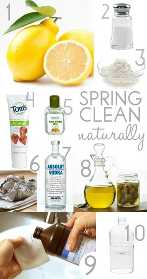 10 Tips For Spring Cleaning - Naturally! - Blissfully Domestic