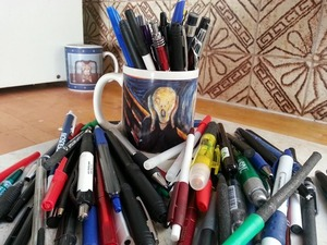 What I Plan to Do About My Disposable Pen Peeve - We Hate To Waste