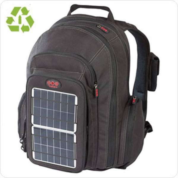 OffGrid Solar Powered Backpack