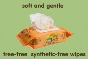 Bumboosa baby wipes - non-synthetic, tree-free product