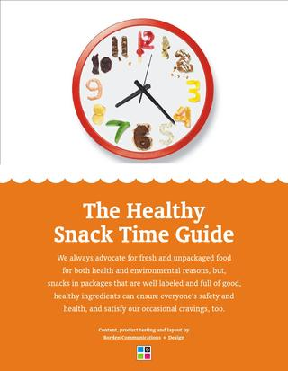 The Healthy Snack Time Guide