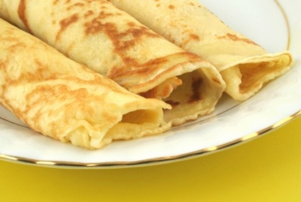 The Magic of Crepes with Leftover Fish