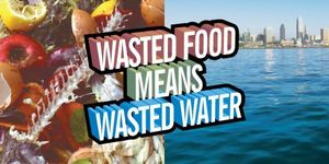 Wasted Food = Wasted Water