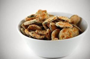 #MeatlessMonday: Zucchini Chips
