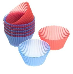 Flex Silicone 2-Inch Reusable Baking Cups - waste free