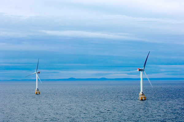 Offshore wind energy could power entire U.S. East Coast, Stanford scientists say
