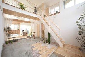 Japanese Eco village house brings nature inside.