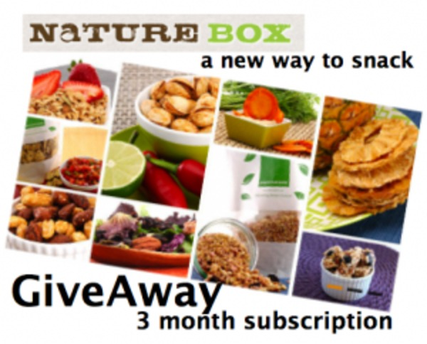 NatureBox Giveaway - 3 Months of healthy Snacks in Box