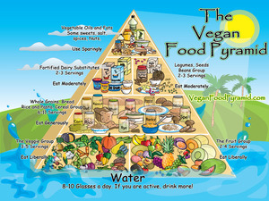 The Vegan Pyramid