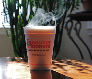 FINALLY! Dunkin' Donuts to Phase Out Foam Cups