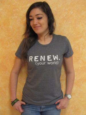 Groovy Globe - Women's Renew T-shirt
