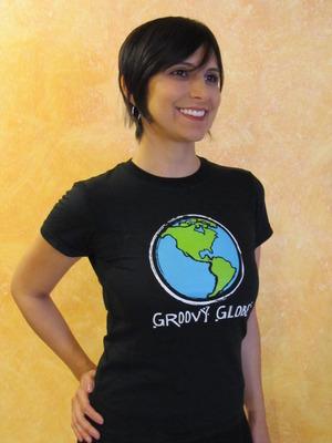 Groovy Globe Women's T-shirt