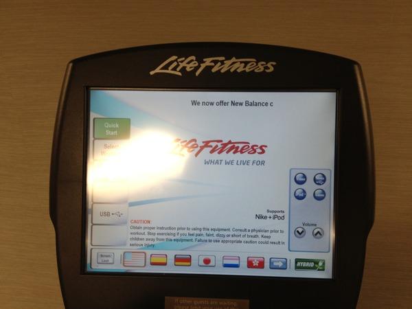 Hybrid Elliptical Exerciser from Life Fitness