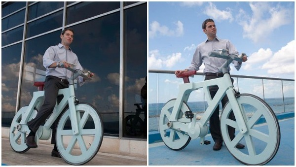 Eco Monday: Cardboard Bicycles by Ishar Gafni