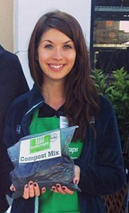 Sustainability alum turns food waste into a career via @asunews