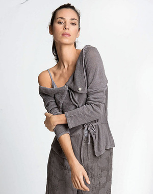 All Natural and Sustainable Linen Jacket