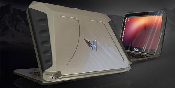 Solar-powered Ubuntu laptop boasts 10-hour battery, 2-hour charge time via @engadget