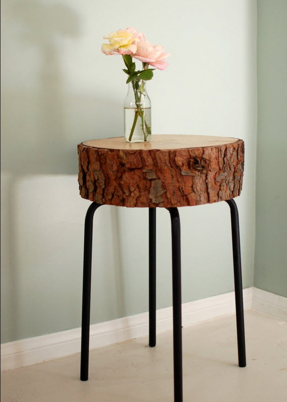 6 Ways to Upcycle a Tree Stump | Design Happens