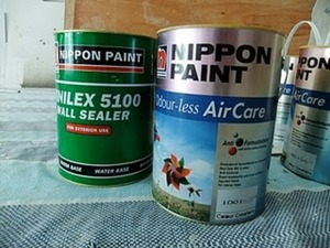 Almost ZERO VOC Paints
