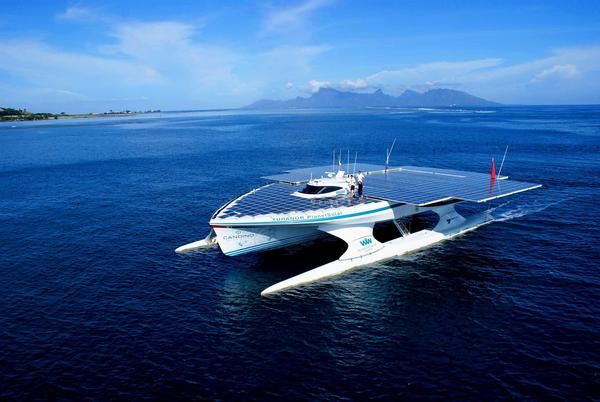 planetsolar is the biggest solar boat in the world 500eco