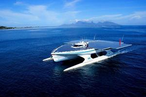 PlanetSolar is the biggest solar boat in the world