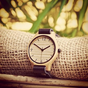 single strap Bamboo Revolution watch #bamboorevolution #watch #fairtrade #ecofriendly #handcrafted