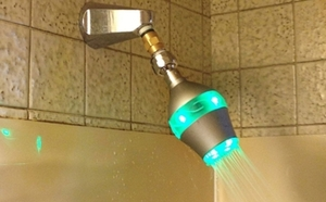 Color Changing Shower Head Promotes Water Conservation via @Care2
