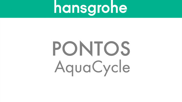 Grey water recycling with Pontos AquaCycle