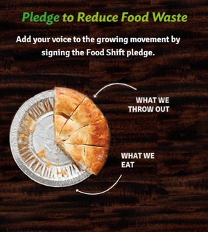 Pledge to Reduce Your Waste via @foodshift #foodwaste
