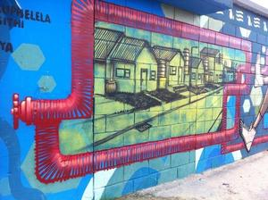 Africa's first mural dedicated to water conservation with @jumamkwela and @sjartists via @CreativeCT
