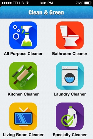 Clean N Green: New Cleaning App Keeps Your Home Green - Carbonfeet