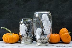 12 DIY Halloween Decor Ideas Made from Trash via @Earth911
