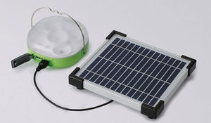 Panasonic introduces solar LED lantern and charger for developing regions via @treehugger