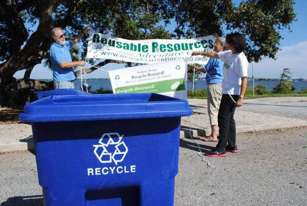 Recycle Brevard Festival plants seeds of sustainability