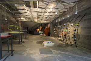Nike Builds Concept Store from Trash