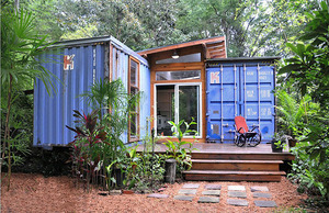 Artist Builds His Home From Recycled Shipping Containers