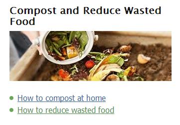 Reducing Wasted Food Basics via @EPA